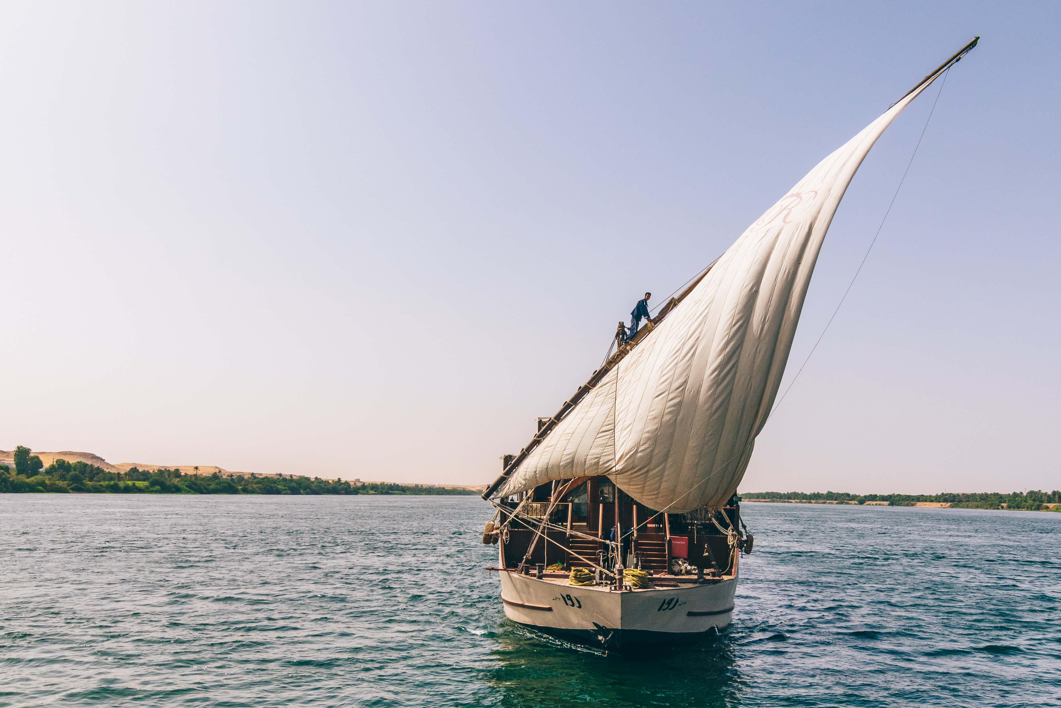 Dahabiya Rois Voyages Pharaon