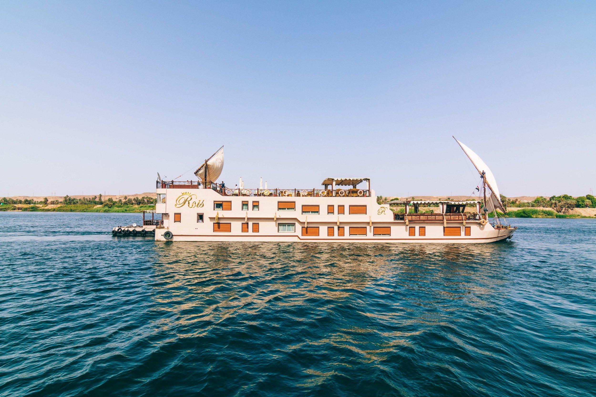Dahabiya Roi bateau de croisiere privee sur le Nil