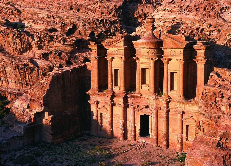 El Deir à Petra