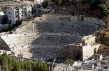 JORDANIE 034 - AMMAN - THEATRE ROMAIN 2