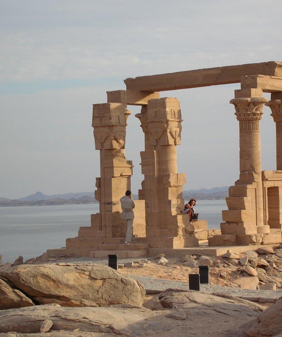 EGYPTE 035 - KALABSHA - KIOSQUE DE KERTASSI 45