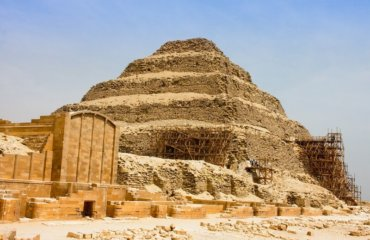 EGYPTE 036 - CAIRE - SAKKARHA - PYRAMIDE DE DJOSER 23