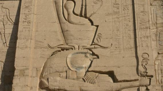 EGYPTE 076 - EDFOU - BAS RELIEF 51