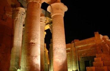 EGYPTE 079 - KOM OMBO - COLONNE 3