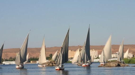 EGYPTE 084 - ASSOUAN - FELOUQUE 111