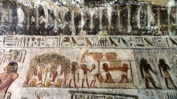 EGYPTE 121 - EL KAB - TOMBEAU D'AHMES 14