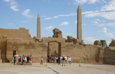 EGYPTE 127 - KARNAK TEMPLE - COURS DE LA CACHETTE 3