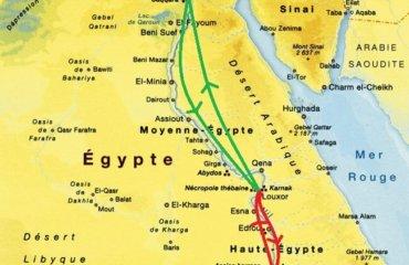 CARTE - EGYPTE - CROISIERE PREMIERE